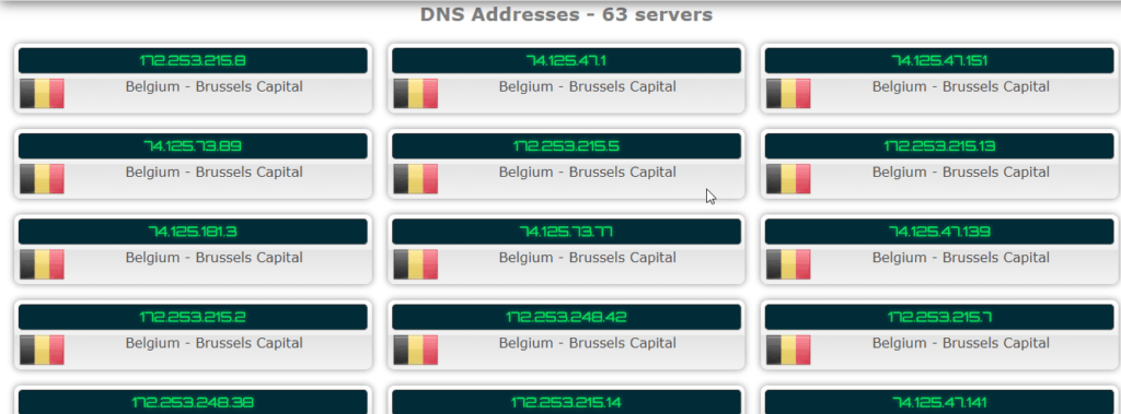 Test for DNS Leak